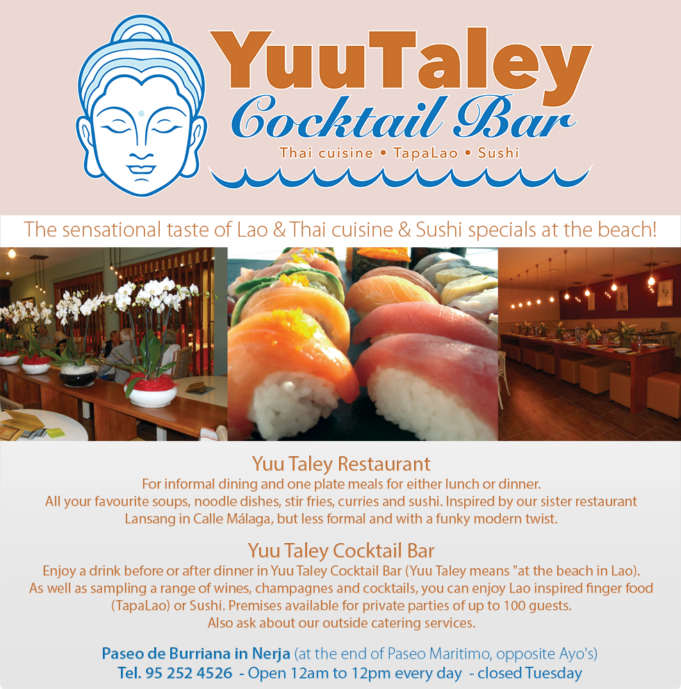 YuuTaley - Cocktail Bar, Thai cuisine, TapaLao & Sushi.